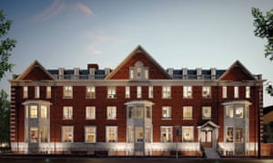 A publicity image of Westbourne Place, taken from Redrow's website.