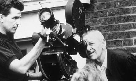 William Wyler at work, undated.