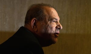 Harvey Weinstein, who faces a maximum 25-year sentence.