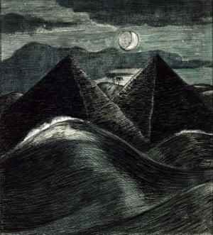 The Pyramids in the Sea, 1912.