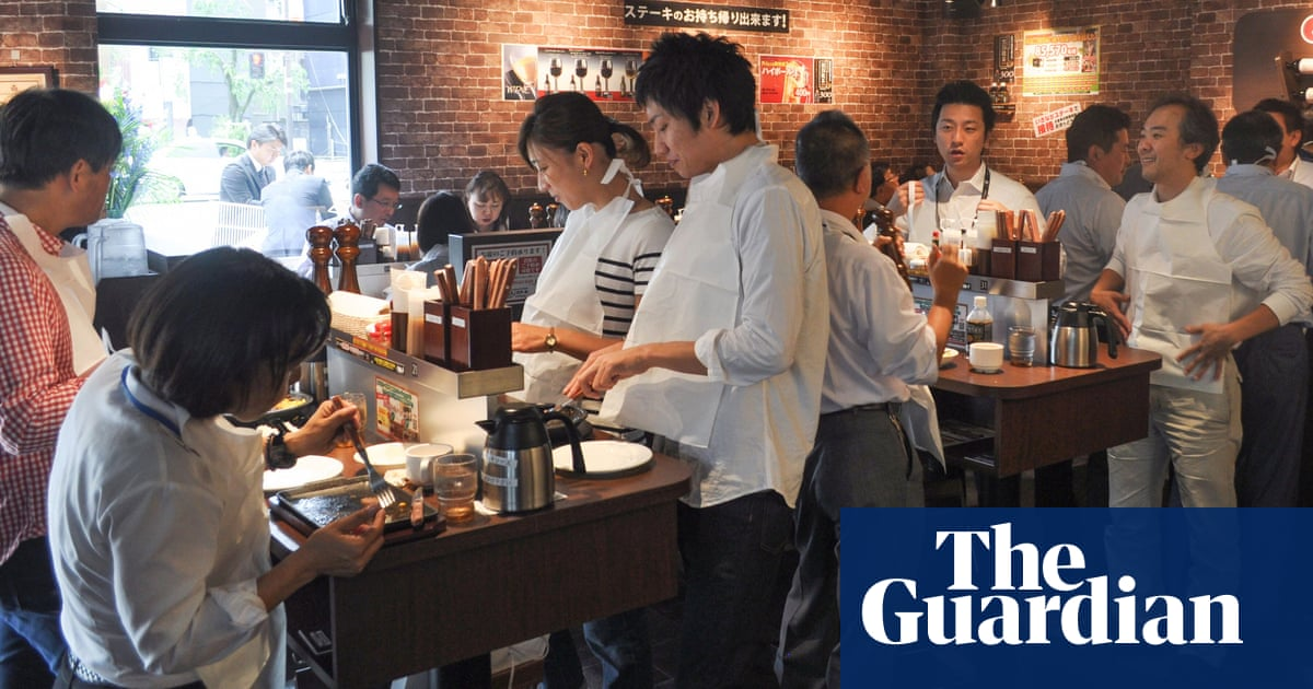 Japan's standing-room-only steak houses | Travel | The Guardian
