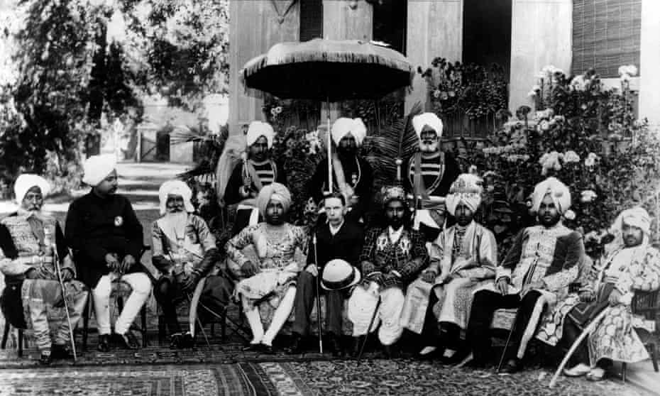 Good for who? the Lieutenant-General of the Punjab with five Maharajas, two Rajas and one Nawab on 2 April 1875.