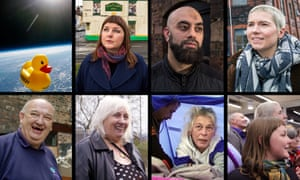 Some of the people (and ducks) in our Made in Stoke-on-Trent series