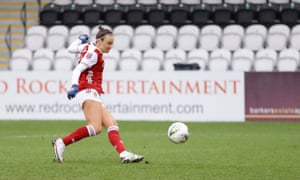 Caitlin Foord equalises for Arsenal