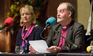 Bishop James Jones delivering Thought of the Day at Wigmore Hall in central London as Radio 4's Today programme celebrated its 60th anniversary on 28 October 2017