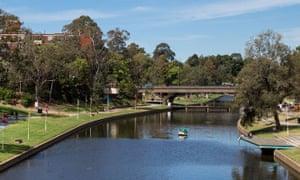 Parramatta Park in Sydney's west.