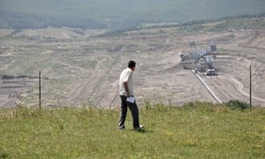 Hundreds of Kosovans were forced from their homes to make way for the Sibovc coalmine.