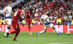 Divock Origi of Liverpool scores his sides second goal.