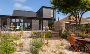 'The vision for the house was very much about being able to see the sea': Rachael Dickens's home near Herne Bay.