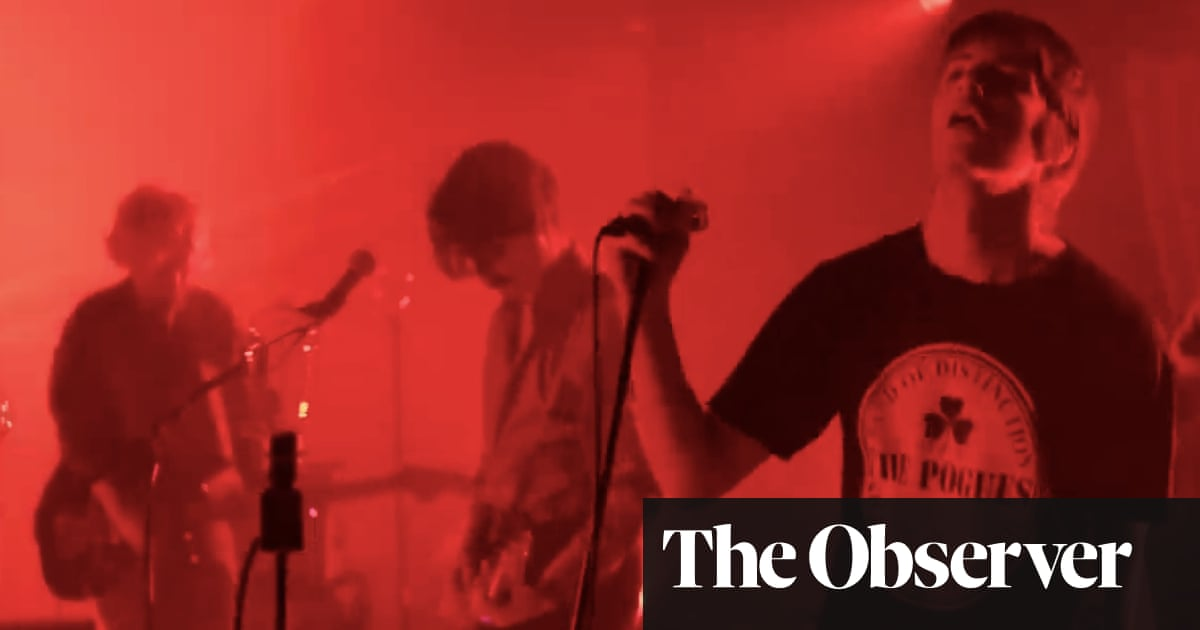 Fontaines DC: A Night at Montrose, Dublin review – a blast of joy and disquiet