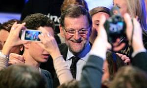 prime minster Mariano Rajoy