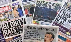 Brexit: Salzburg newspapers