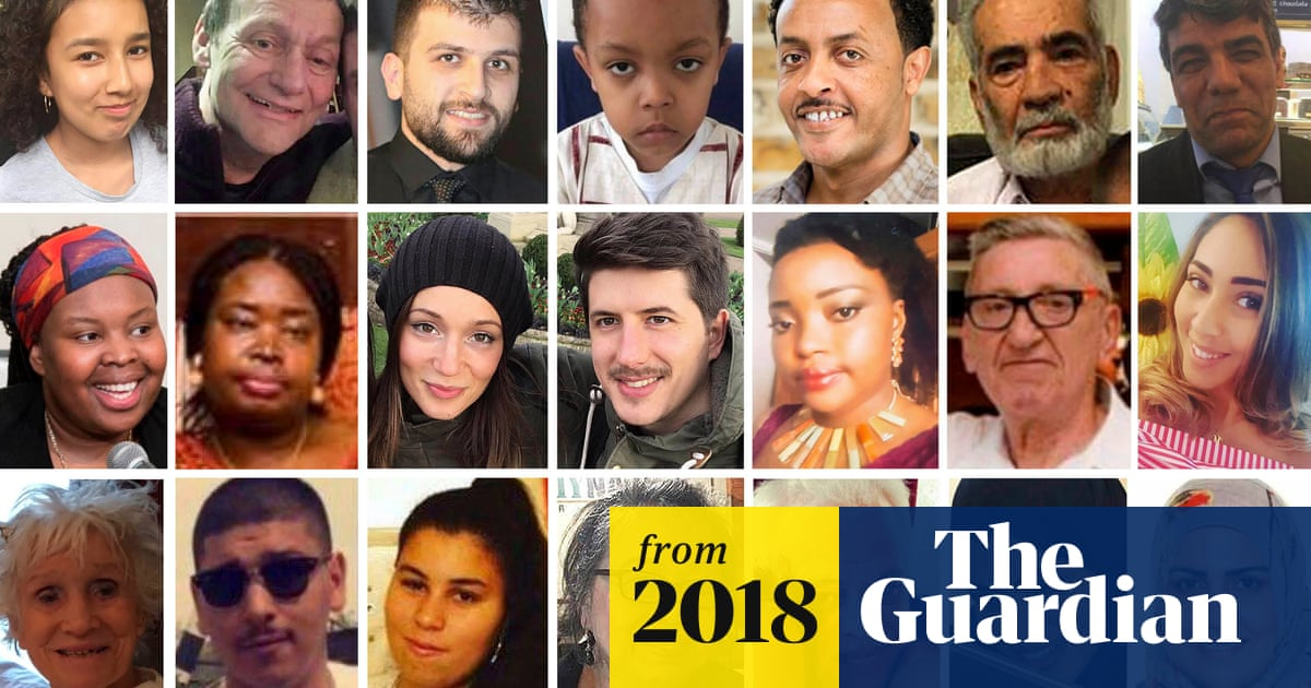 Grenfell: the 72 victims, their lives, loves and losses | UK news