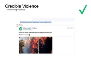 Credible Violence 14