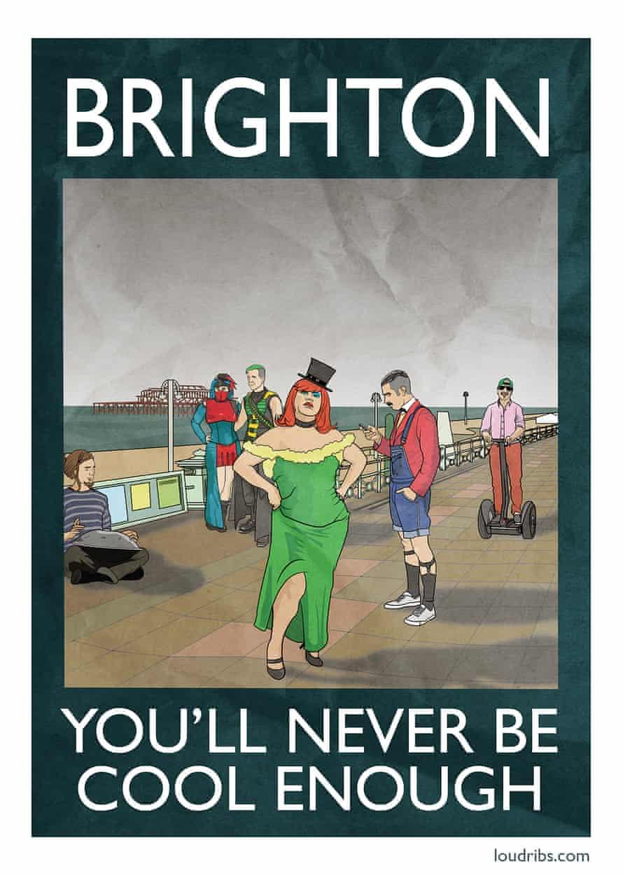 Rubbish Seaside Brighton
