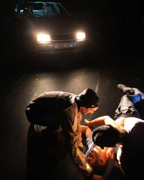 Seen as the guilty party ... La Reprise: Histoire(s) du Theatre (I).