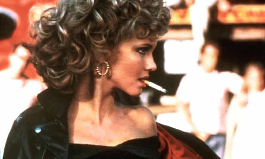 Olivia Newton-John as sexy Sandy Olson in Grease.