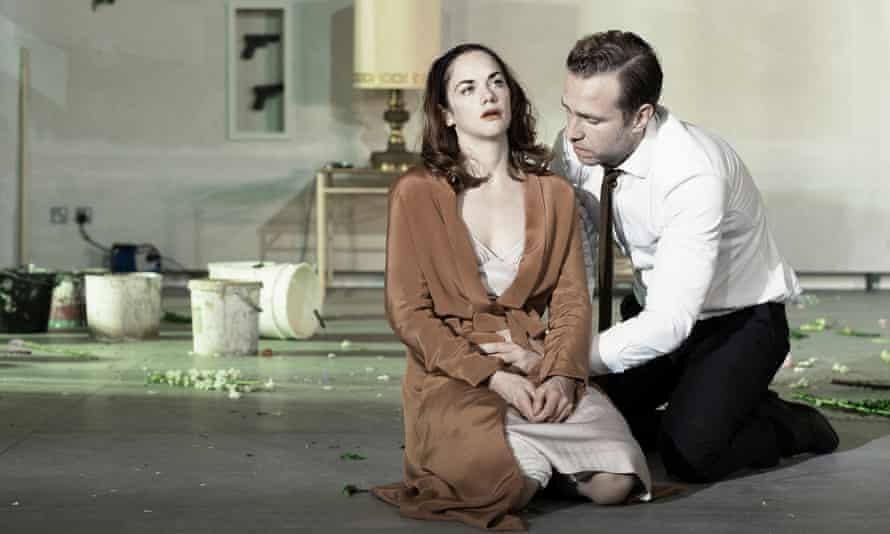 Ruth Wilson with Rafe Spall in Hedda Gabler.
