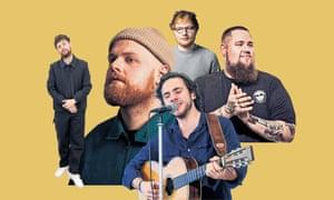 Tom Grennan, Tom Walker, Ed Sheeran, Rag'n'Bone Man and Jack Savoretti