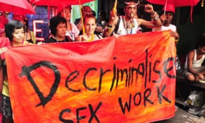 'We hope Amnesty's decision will put the question of decriminalisation at the forefront of discussions'