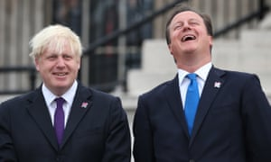 Isn't part of the problem that we're accepting a hateful view of ourselves projected on to us by politicians who never actually meet any of us? … Boris Johnson and David Cameron