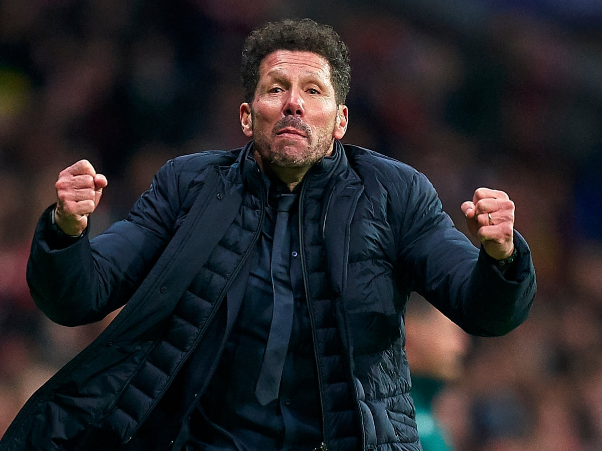 Diego Simeone the conductor as Atlético orchestra finds its rhythm | Sid Lowe | Football | The Guardian