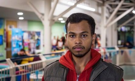 Abhinav Paul Kongari at Sheffield University