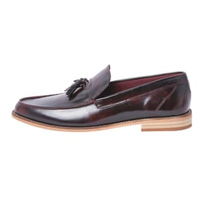 burgundy loafers River Island