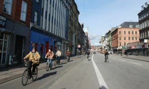 Copenhagen is pushing to become carbon neutral by 2025.
