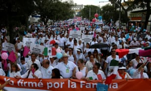 Guadalajara City anti-gay marriage march