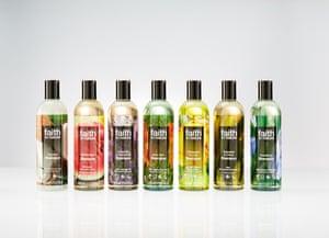 Faith in Nature's shampoo range