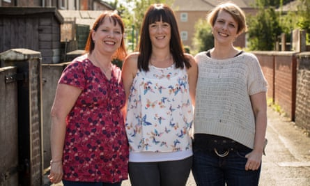 Lorna Sargeant, Claire Pike and Tamsin Sargeant.