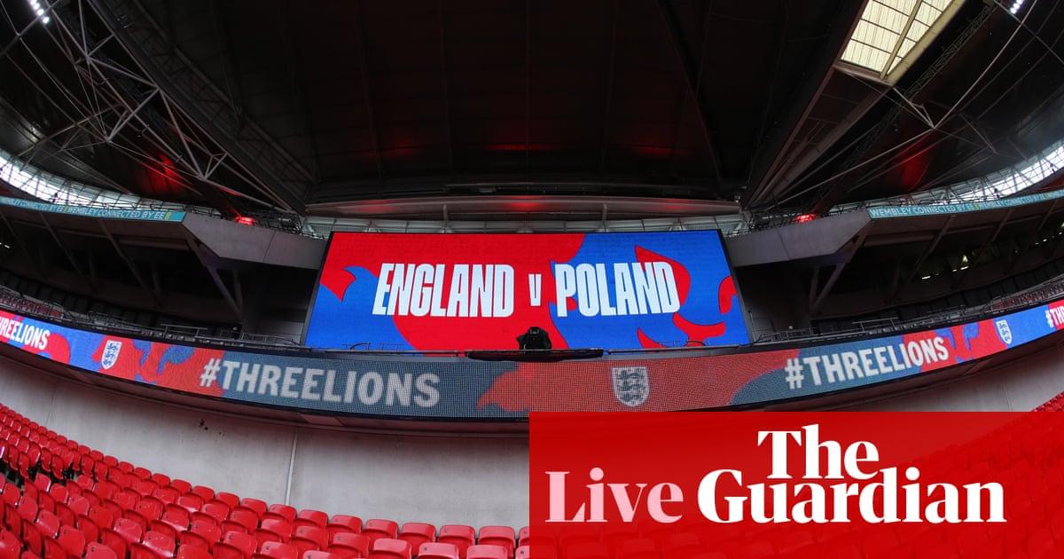 England v Poland: World Cup qualifying – live!