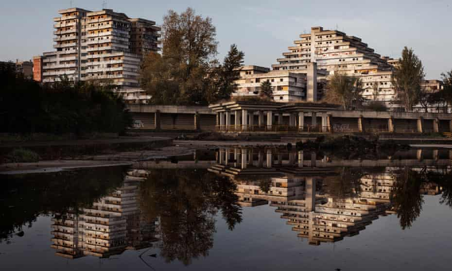 One block of Le Vele will be preserved for posterity as an important example of modernism.