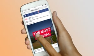 SERBIA-PEOPLE-POLITICS-SOCIAL<br>phone showing Facebook ad