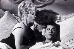Zsa Zsa Gabor with Tony Curtis