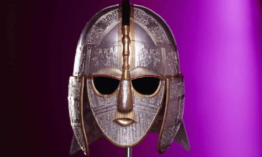Metal marvel … a replica of a find from the Sutton Hoo Saxon burial site in Suffolk.