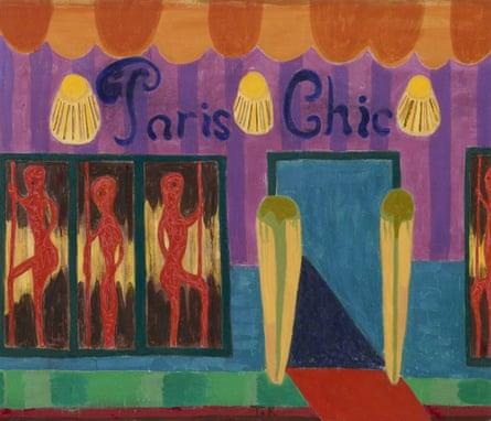 Paris Chic, by Tal R