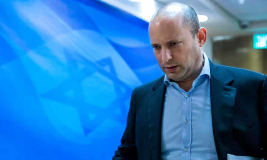 Israeli Education Minister Naftali Bennett thanks Trump on Twitter.