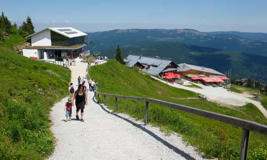 Großer Arber mountain