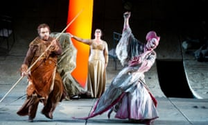An English National Opera production of Parsifal.