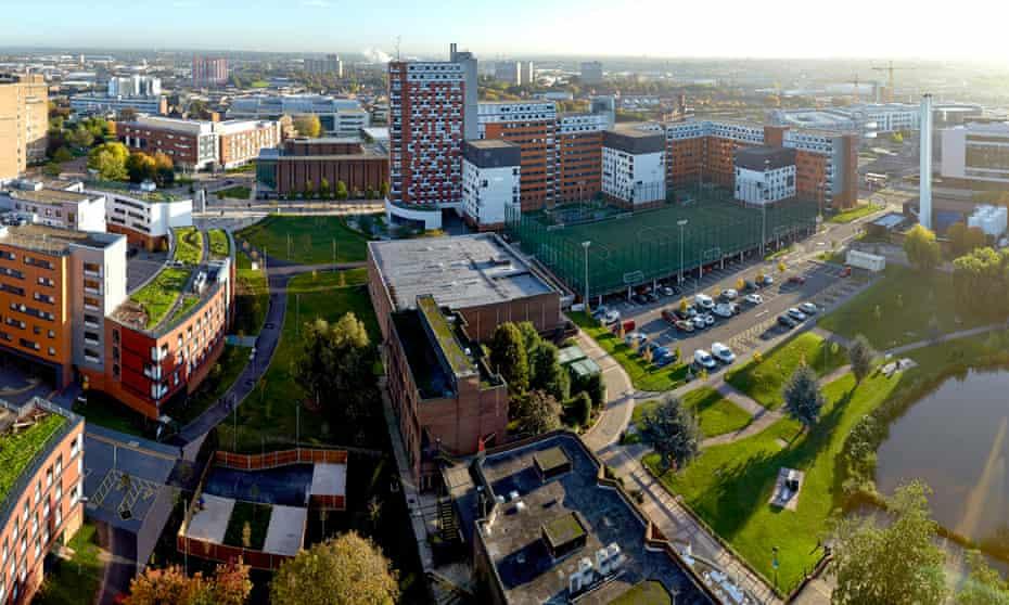 Aston University's new campus.
