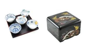 Ceramic dishes, £25Traditional bento box, £29.98japancentre.com