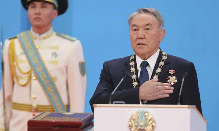 Kazakhstan's President Nursultan Nazarbayev has ruled over the former Soviet republic for more than 25 years.