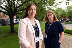 Jenny Allen (left) and Laura Smith, who job-share the role of director of workforce at Leeds community healthcare NHS trust