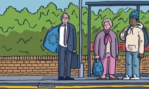 Dom Mckenzie The Observer Comment European movement illustration