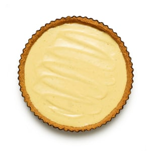 Felicity Cloakes' perfect key lime pie 06. Pour the filling into the cooled shell and chill for at least three hours, until set.