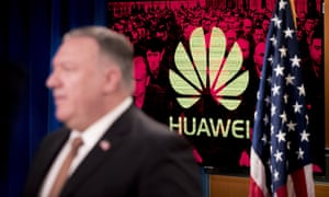 The US has accused Huawei of human rights abuses and may restrict employees US visas.