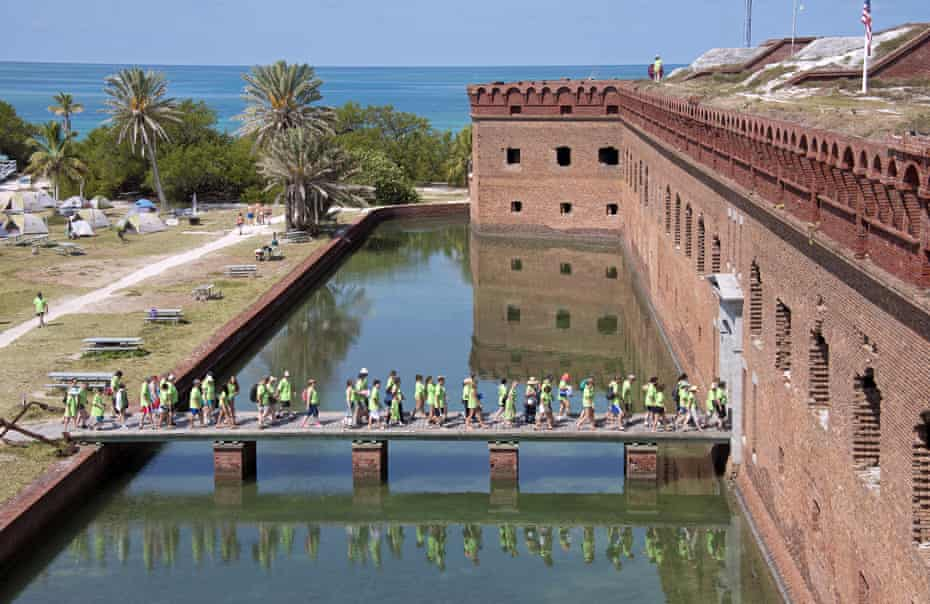 Fort Jefferson in Dry Tortugas national park, Florida