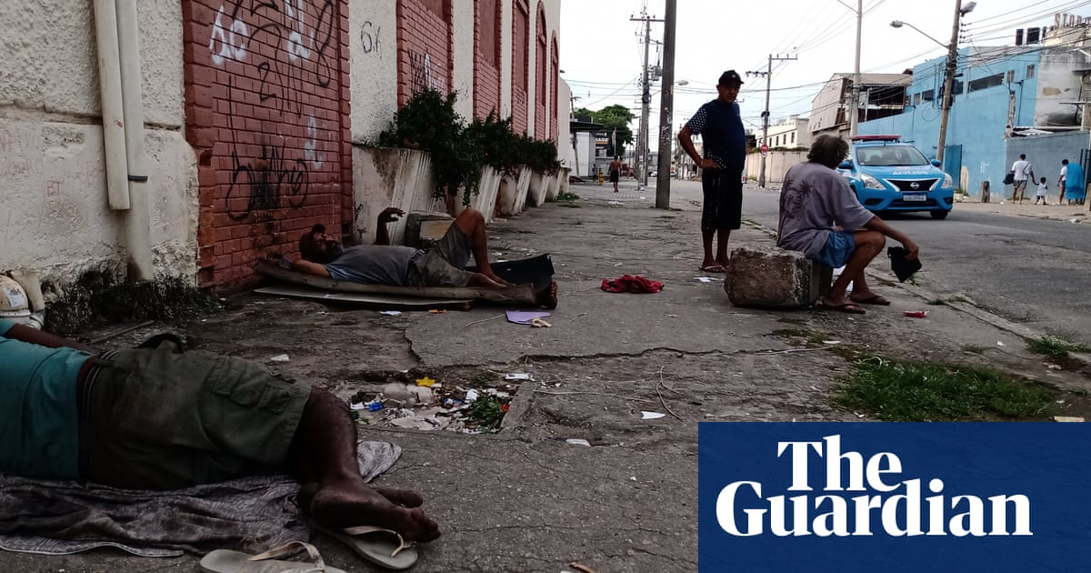 'Hunger has returned': Covid piles further misery on Brazil's vulnerable
